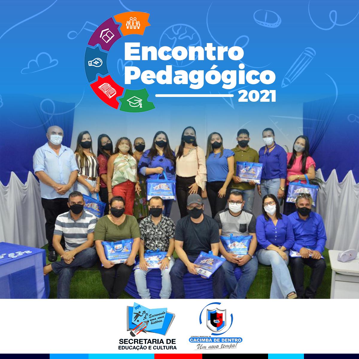 Secretaria Municipal de Educação de Cacimba de Dentro realiza Encontro Pedagógico 2021