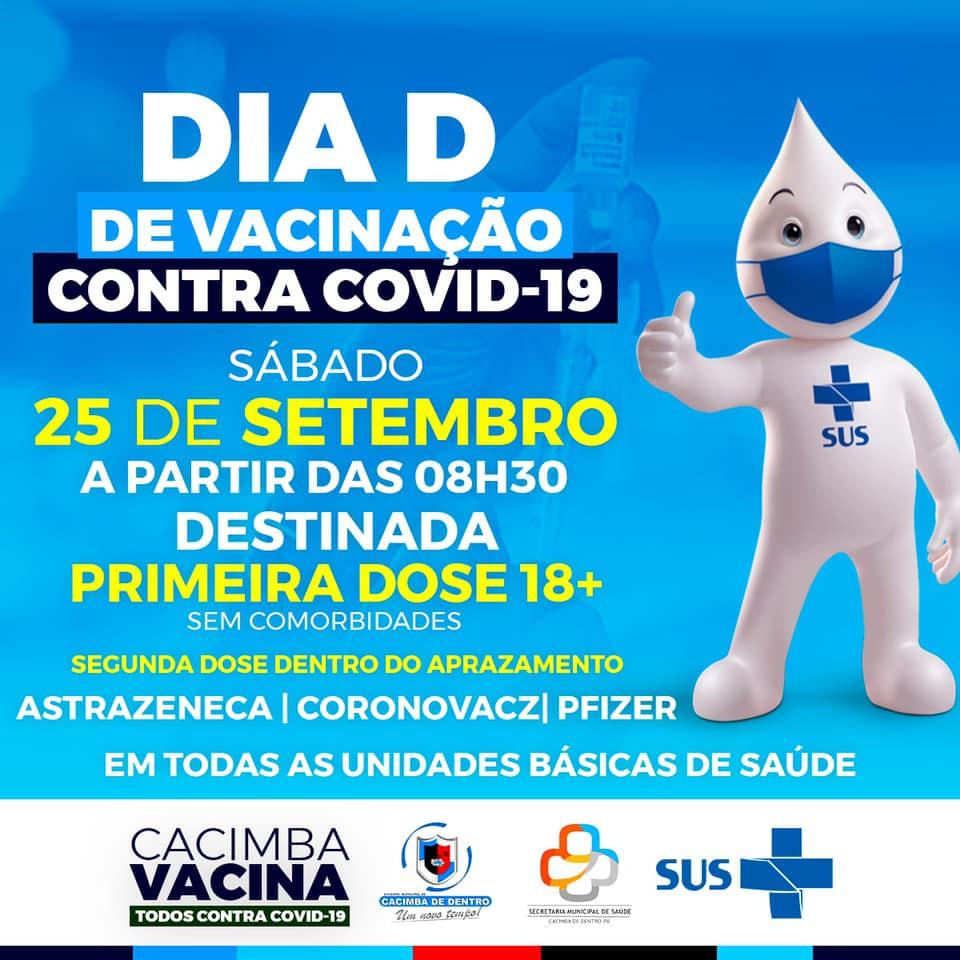 DIA D – De Vacinação Contra COVID-19