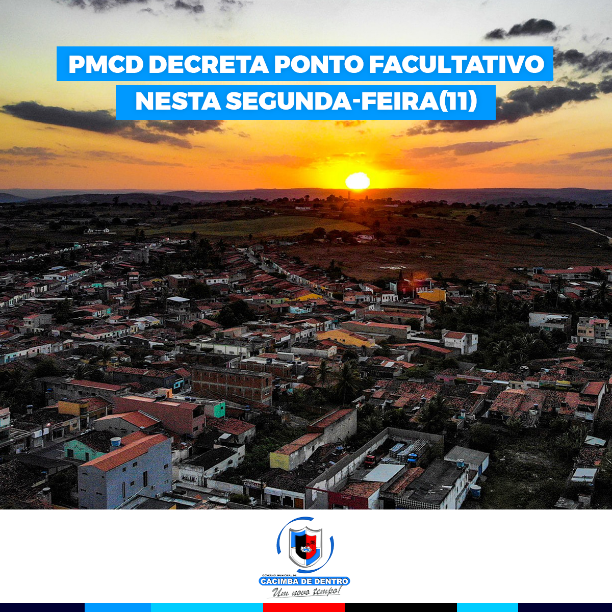 DECRETA PONTO FACULTATIVO NO DIA 11 DE OUTUBRO DE 2021 E DÁ OUTRAS PROVIDÊNCIAS.